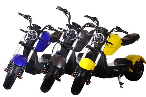 Colour in electrical Motorbike-scooter C1
