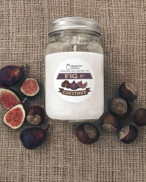Edgewater Candles Soy Candle Mason Jar - LOCAL PICKUP ONLY - select a scent