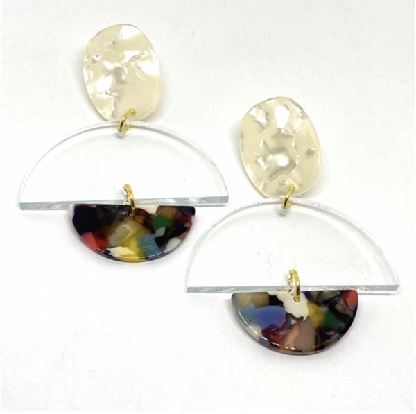 Vintage Royalty Earrings The Melissa Rainbow