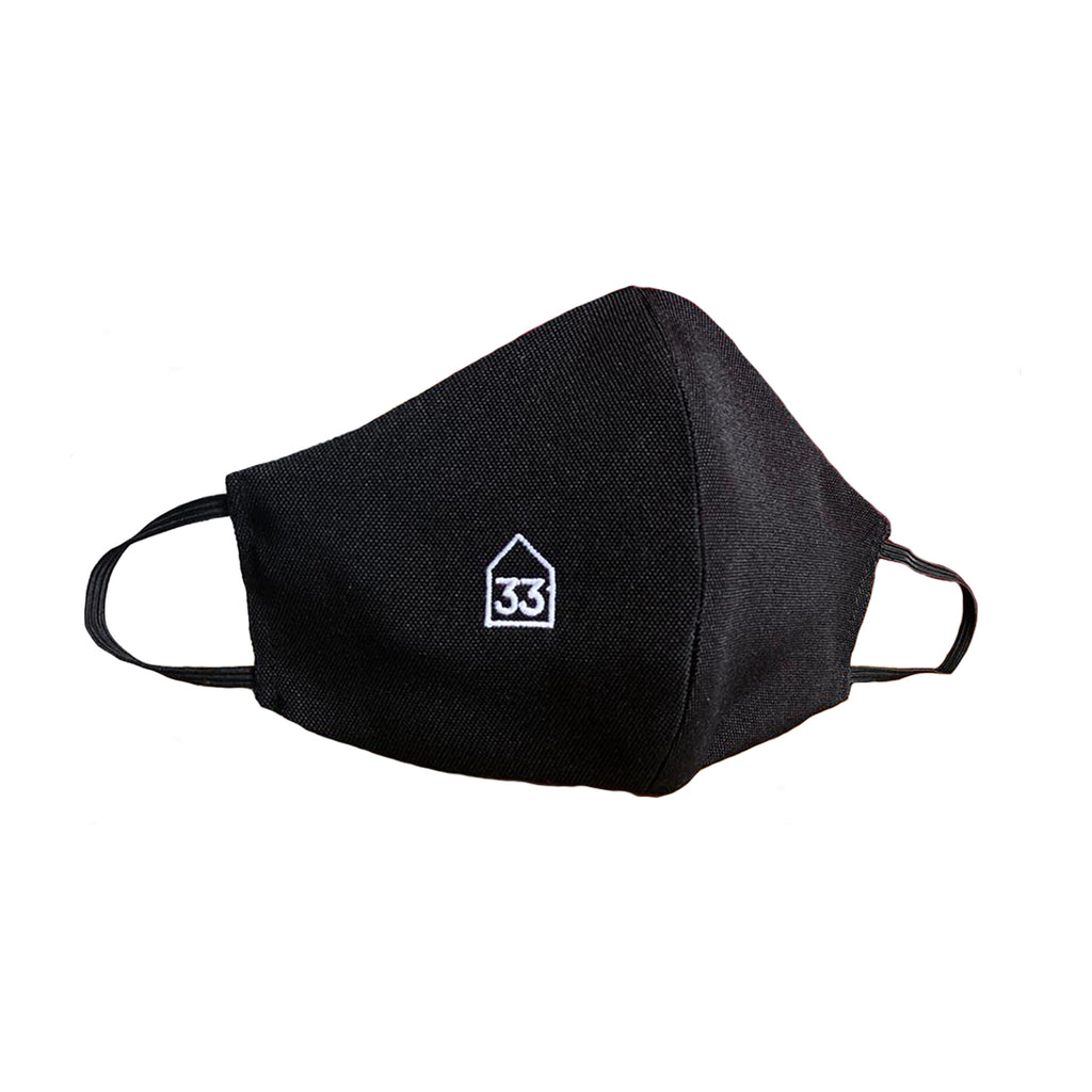 H33 face mask - black