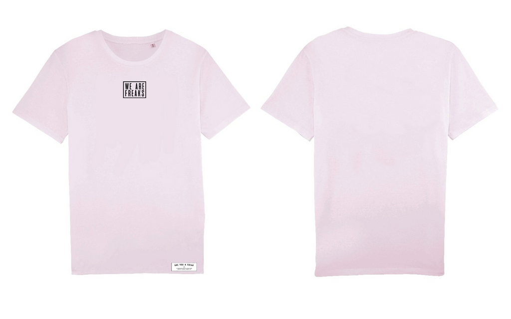 Shirt Pink | We Are Freaks Basics