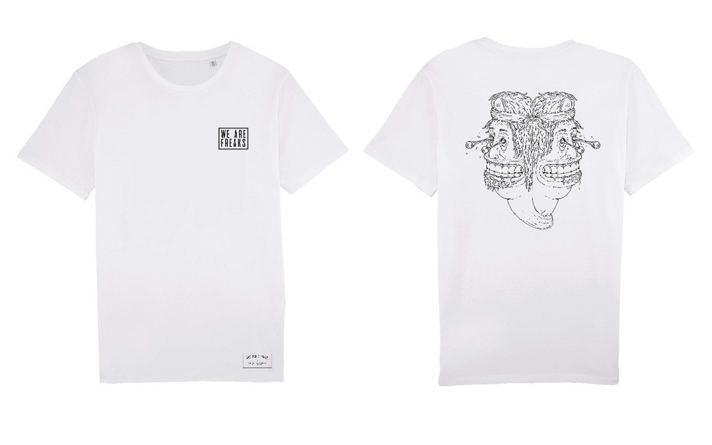 Shirt White | We Are Freaks Basics