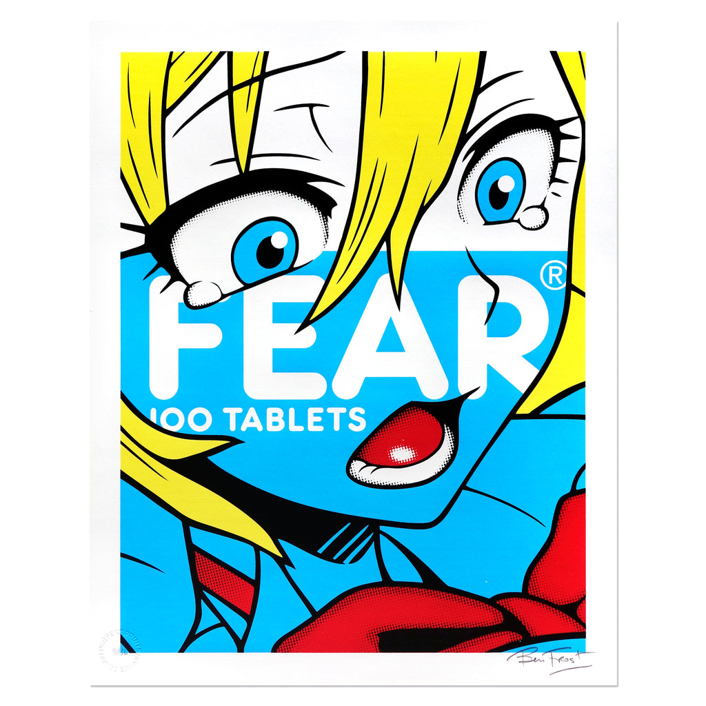 Fear (Blue Edition) - Ben Frost