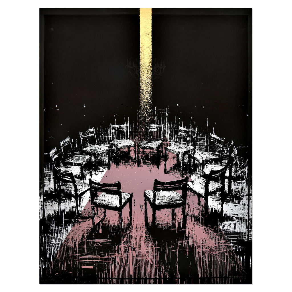 Gonzalo Borondo - Coïncidence (Gold) | PRINTS AND PIECES
