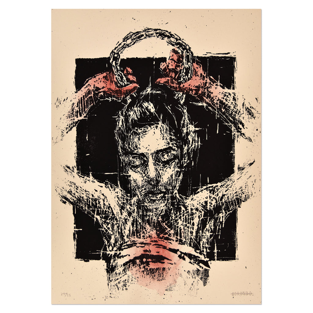 Gonzalo Borondo - El Peso De La Corona | PRINTS AND PIECES