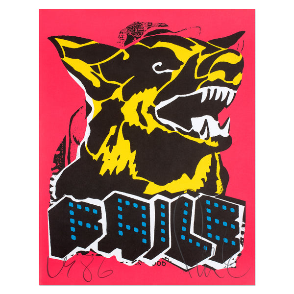 FAILE - Faile Dog Black Light | PRINTS AND PIECES