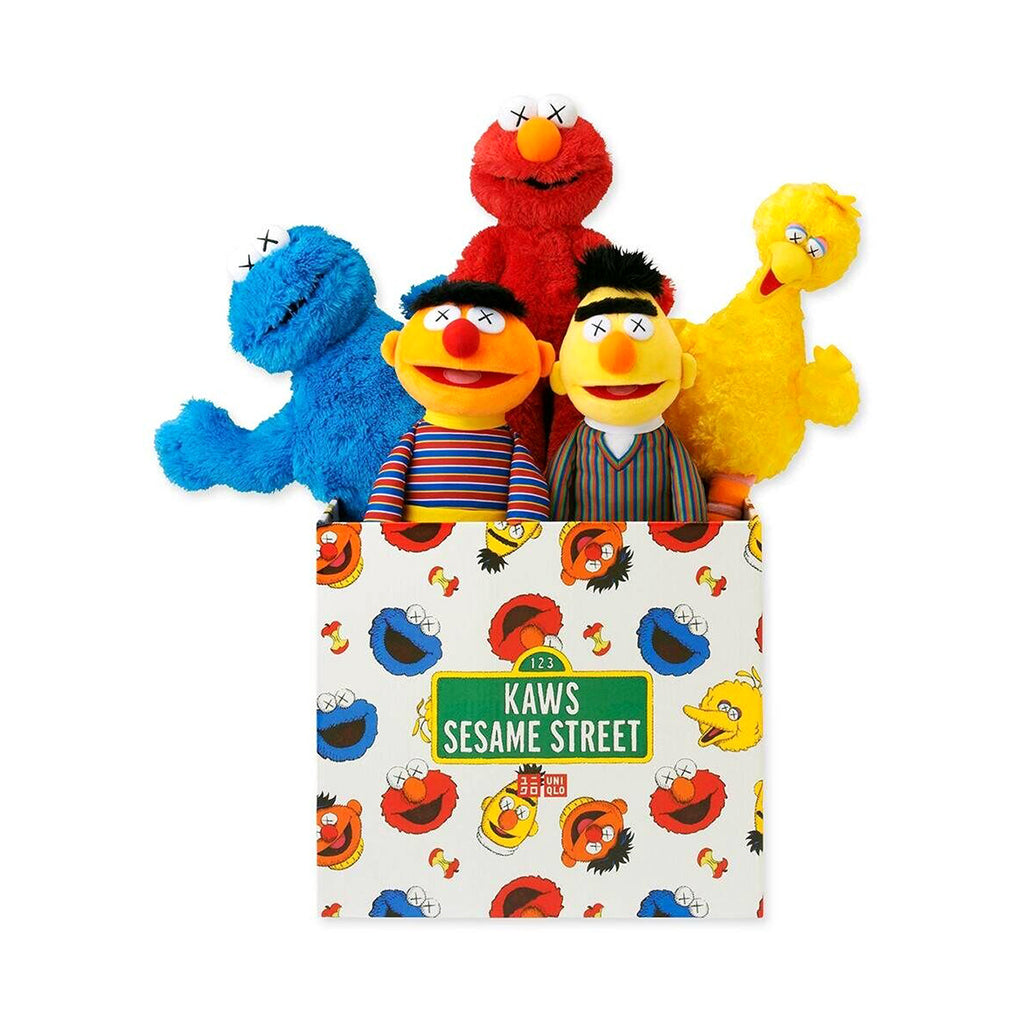KAWS - Sesame Street Toy Box | PRINTS AND PIECES