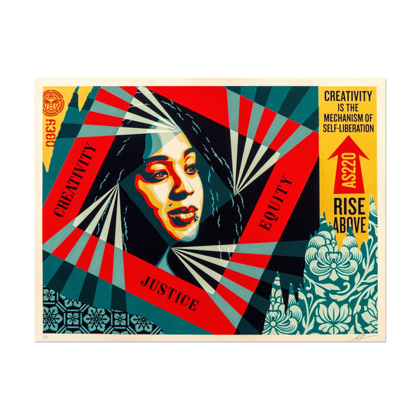 Shepard Fairey - Creativity, Equity, Justice | PRINTS AND PIECES