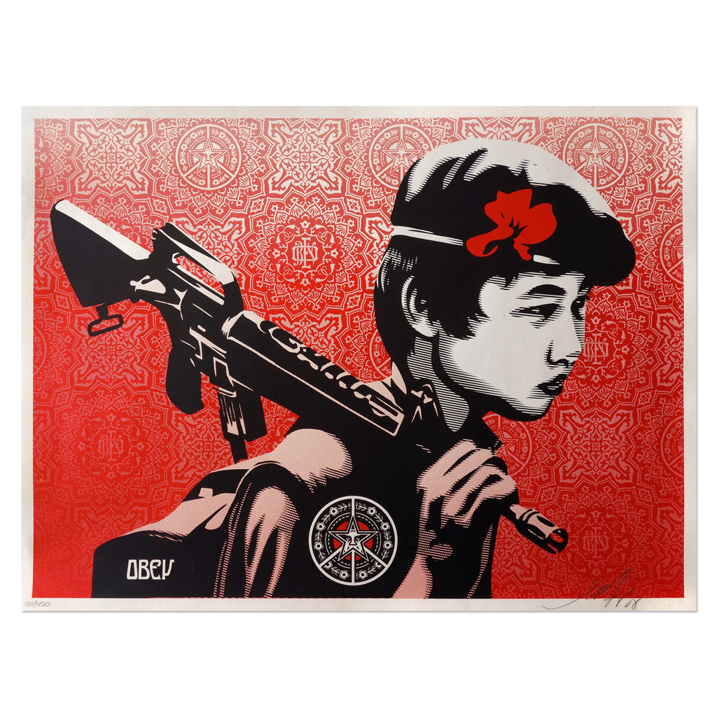 Duality of Humanity 2 - Shepard Fairey