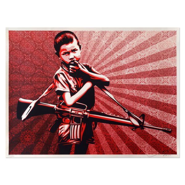 Duality of Humanity 5 - Shepard Fairey