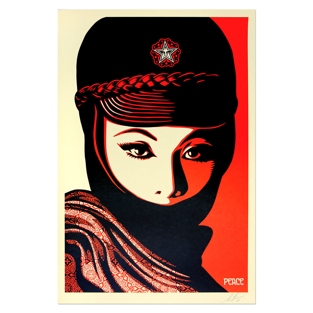Shepard Fairey - Mujer Fatale | PRINTS AND PIECES