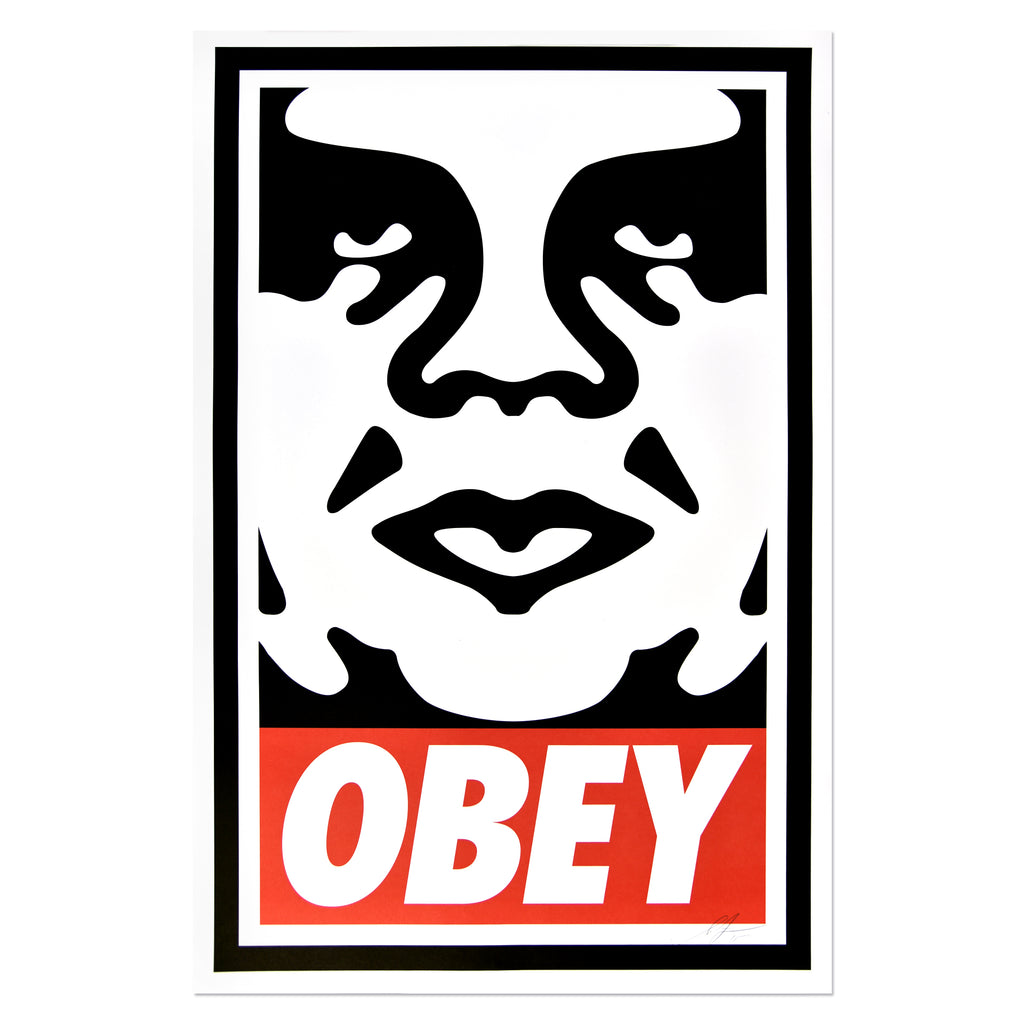 Shepard Fairey - Obey Icon | PRINTS AND PIECES