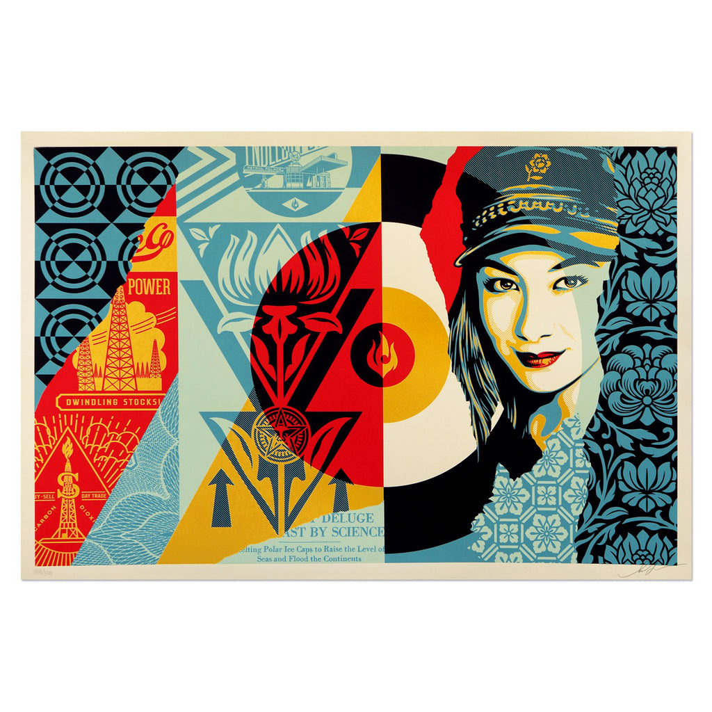 Shepard Fairey - Raise The Level | PRINTS AND PIECES