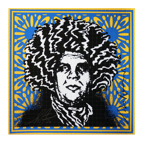 Shepard Fairey - Psychedelic Andre - Pinnacle Blue Variant