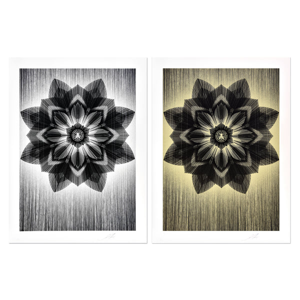 Shepard Fairey - Stardust Silver & Gold (Set) | PRINTS AND PIECES