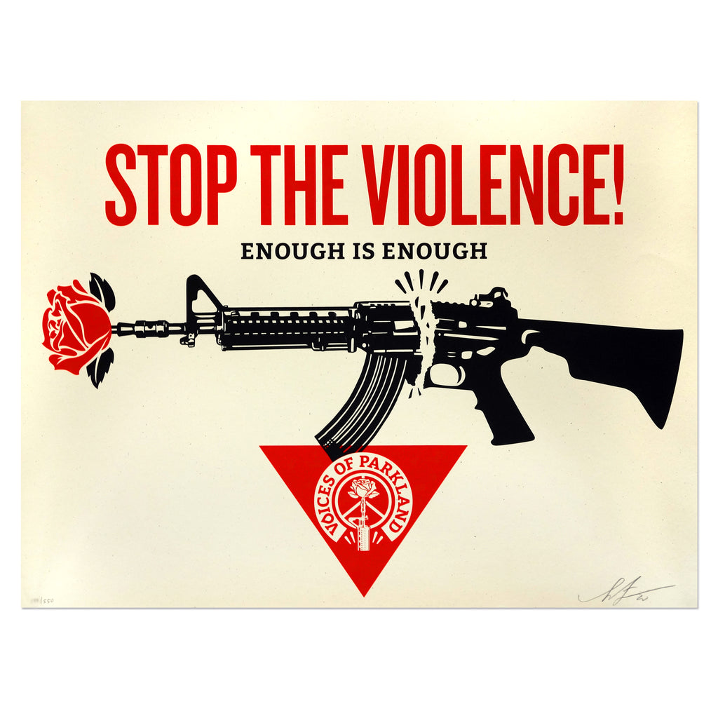 Shepard Fairey - Parkland Voices