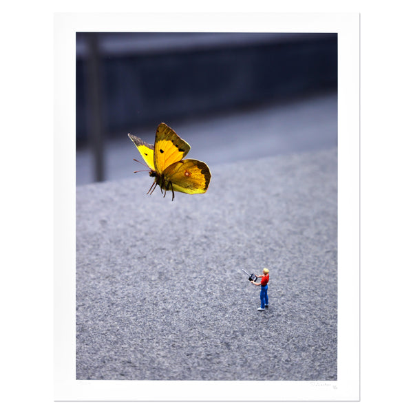 Slinkachu - Drone | PRINTS AND PIECES