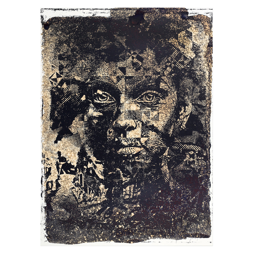 Vhils - Amorphous | PRINTS AND PIECES