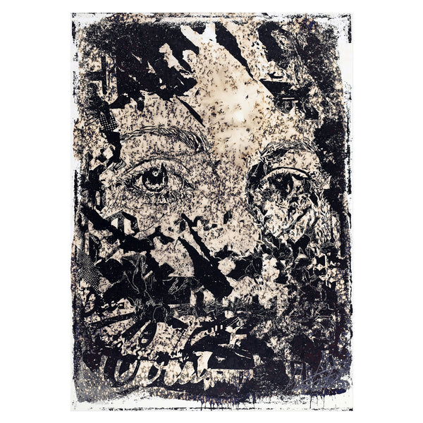 Vhils - Intangible | PRINTS AND PIECES