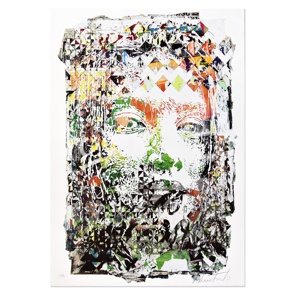 Vhils - Rupture | PRINTS AND PIECES