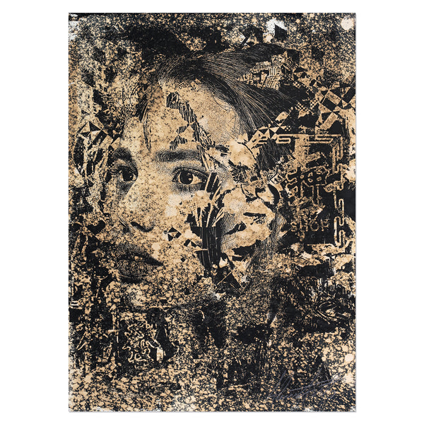 Vhils - Subsume 1 | PRINTS AND PIECES