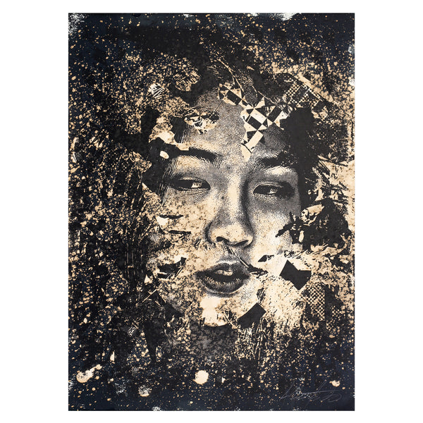 Vhils - Subsume 2 | PRINTS AND PIECES