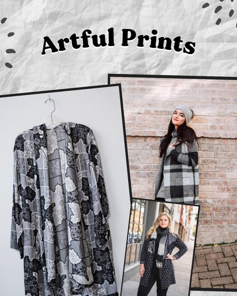 Classic Black & Artful Prints | The Wardrobe