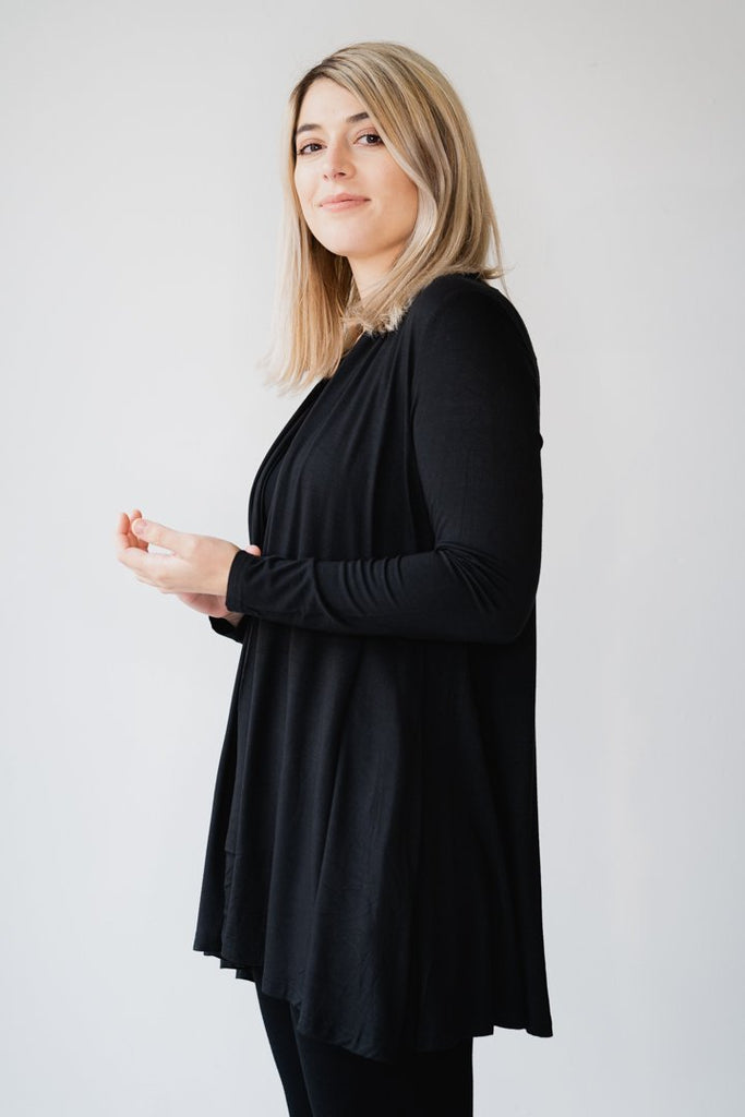 Bamboo Cardigan w/ Pockets - The Wardrobe