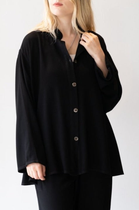 Big Shirt - Black - The Wardrobe
