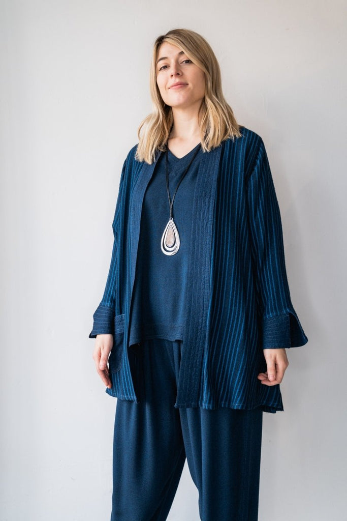 Cardigan - Midnight Blue - The Wardrobe