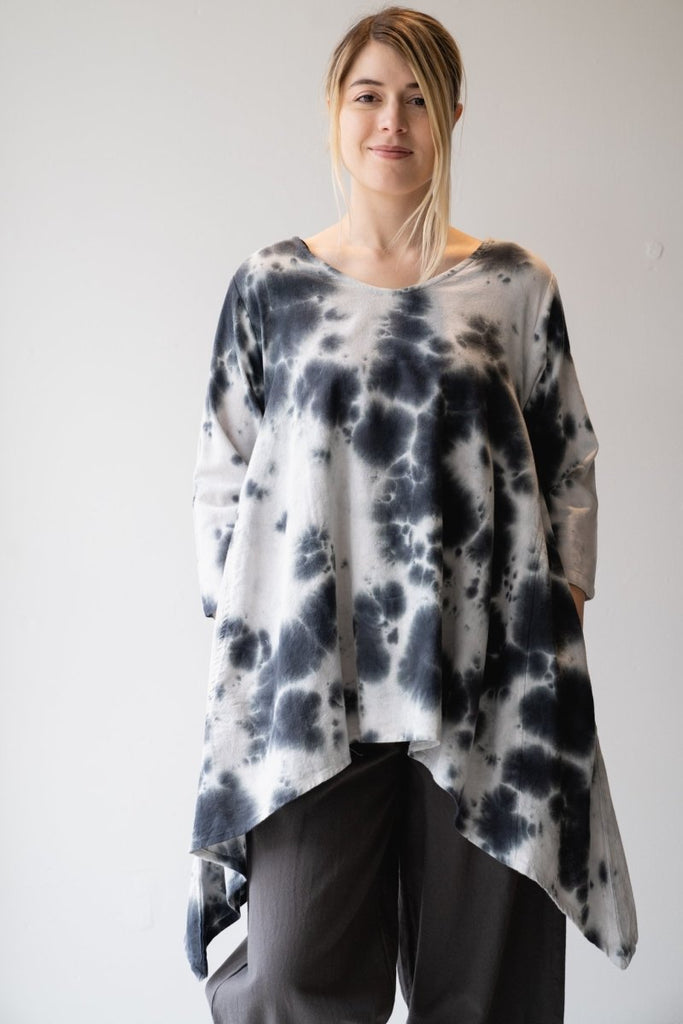 Cotton Tie Dye Tunic - The Wardrobe