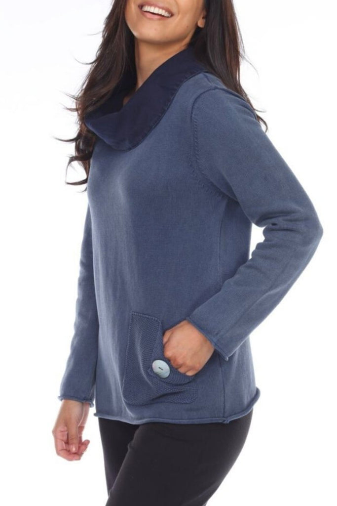 Cowlneck Pullover - The Wardrobe