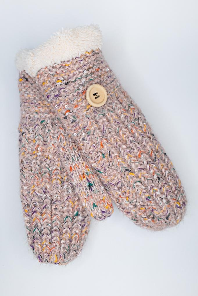 Cozy Mitt w/ Flecks of Colour - The Wardrobe