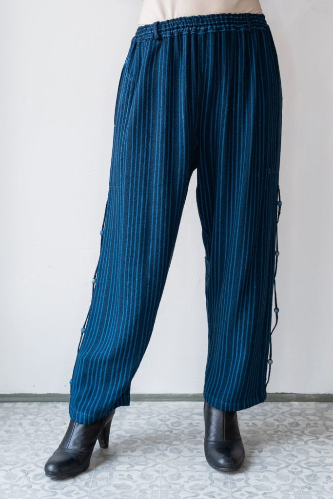 Crop Pant - Midnight Blue - The Wardrobe