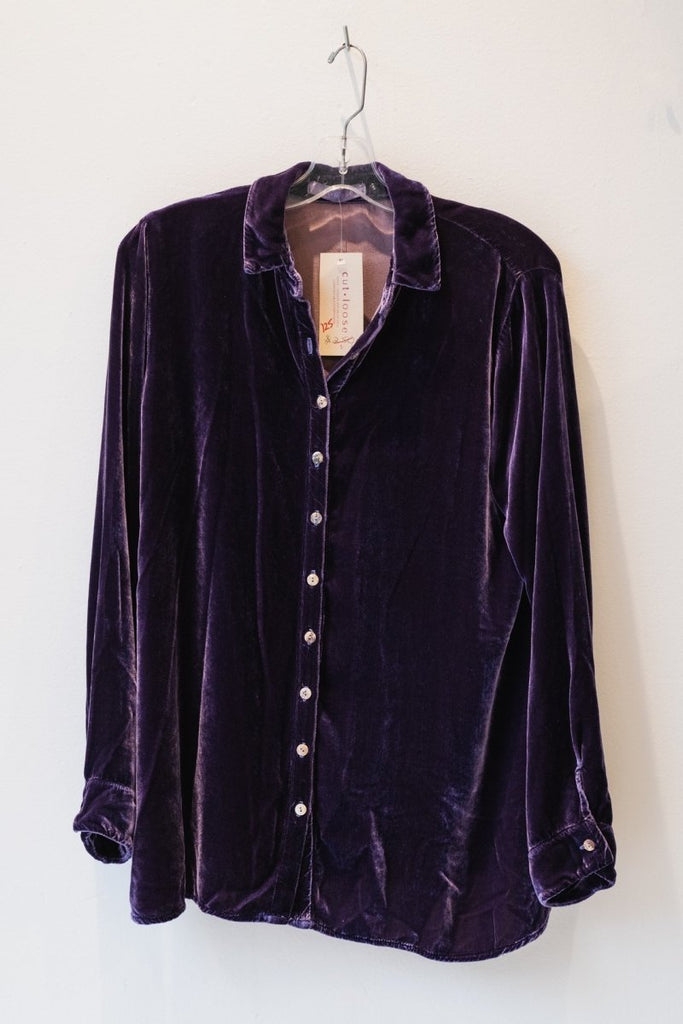 Cutloose - Velvet Shirt - The Wardrobe