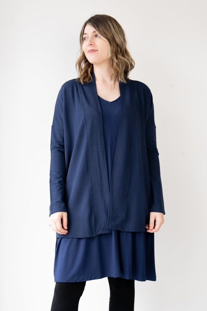 Erica Cardigan - Navy - The Wardrobe