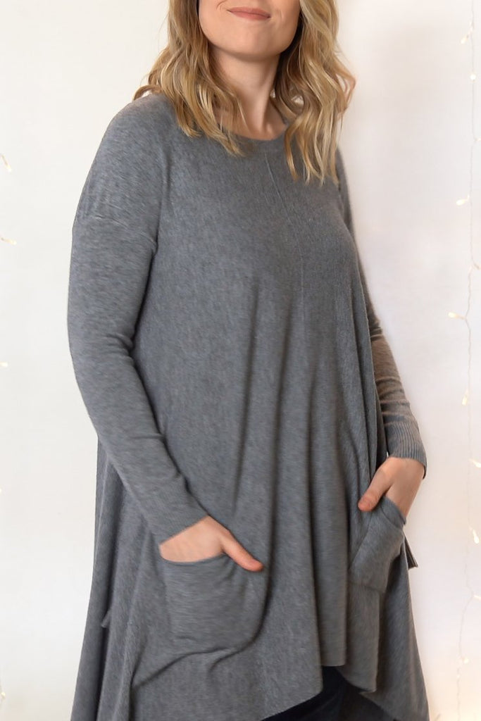 Oversize Pocket Tunic - The Wardrobe