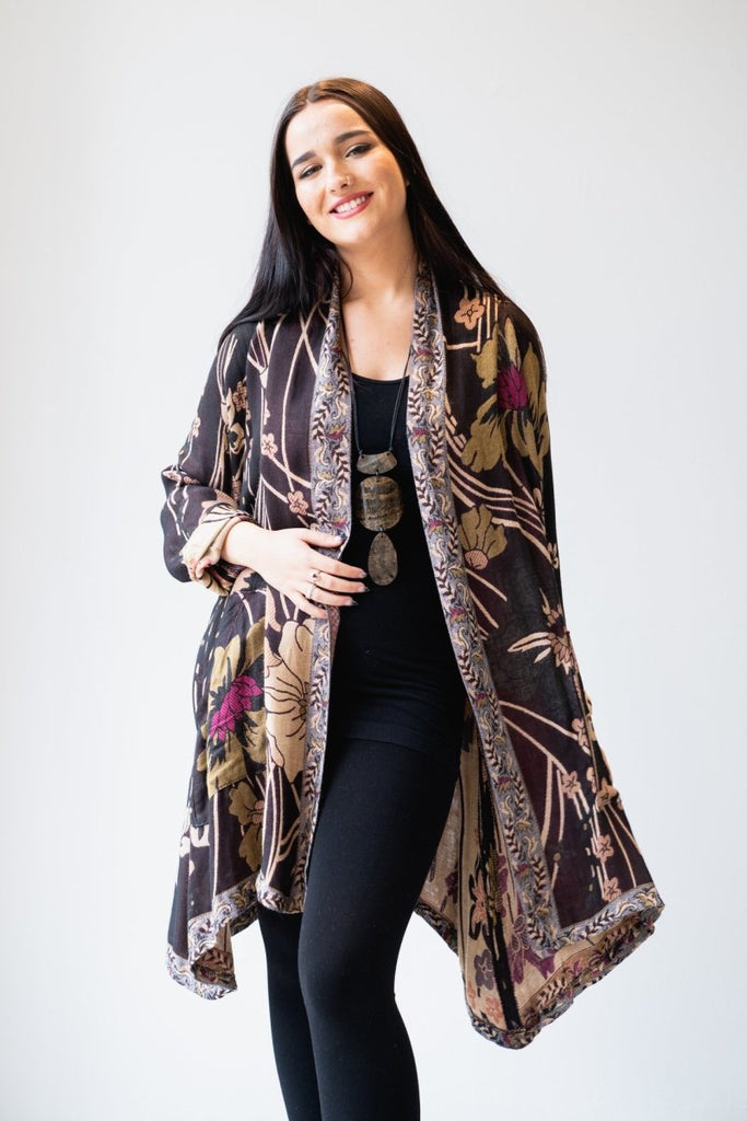 Printed Jacket - Floral - The Wardrobe