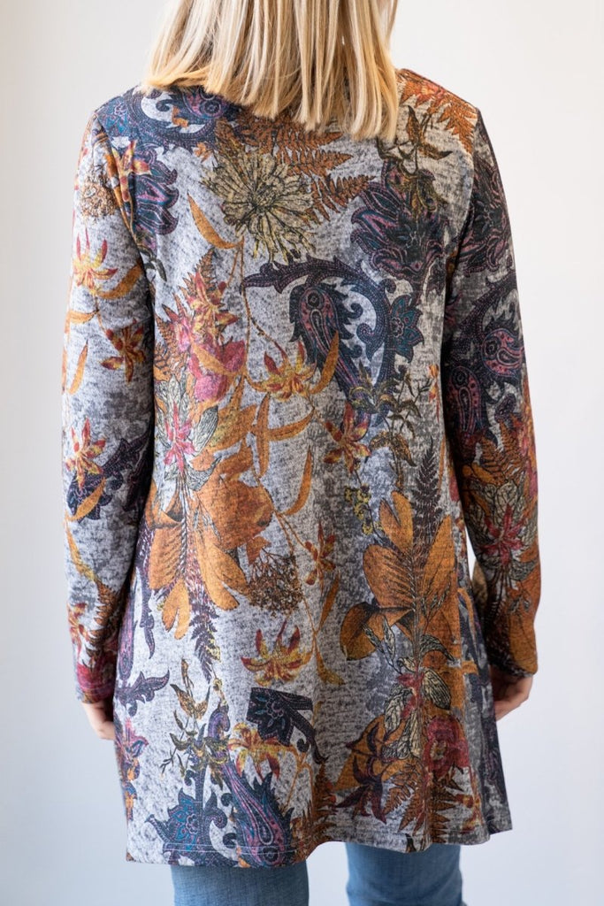 Printed Tunic w/ Pockets - The Wardrobe