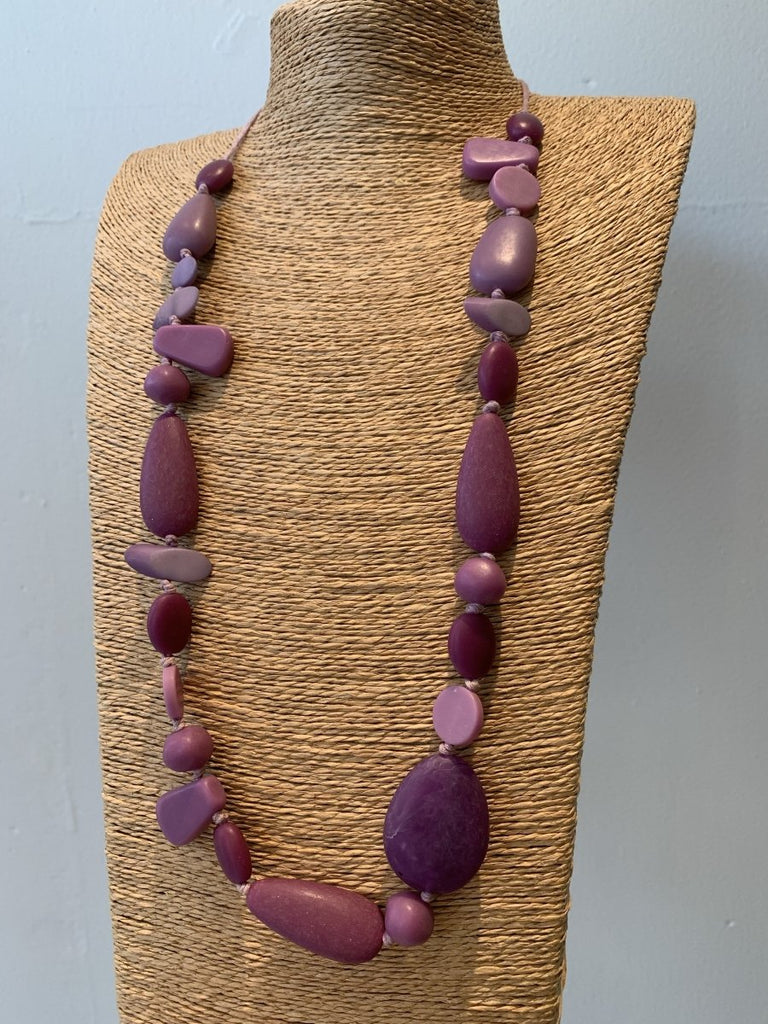 Purple Necklace - The Wardrobe