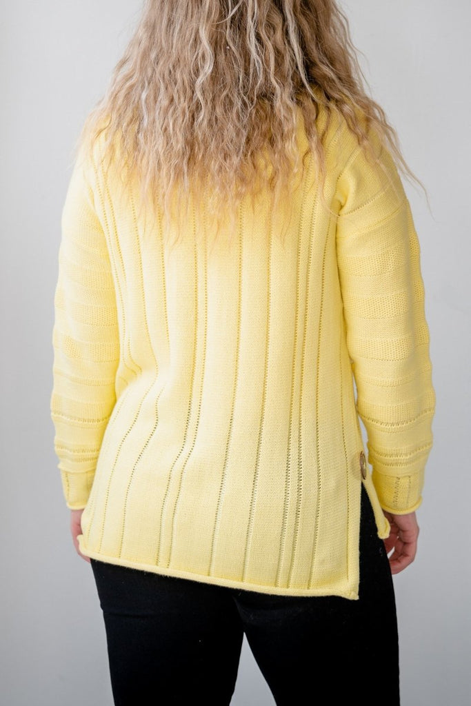 Shine on Pullover - Lemon - The Wardrobe