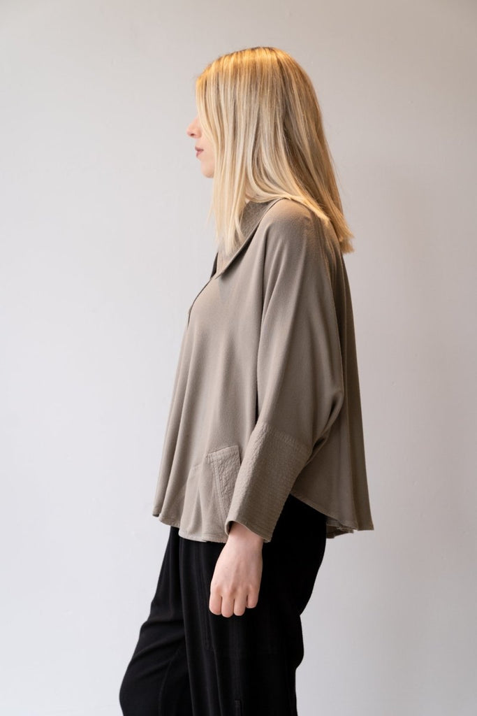 Short Jacket - British Taupe - The Wardrobe