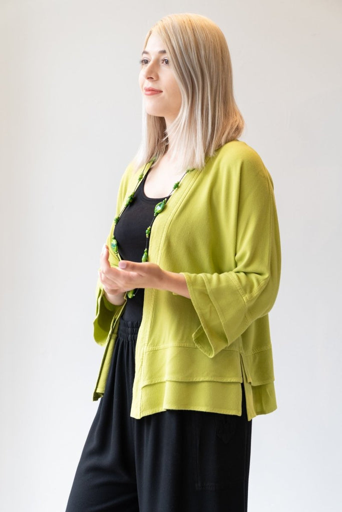 Short Jacket - Lime - The Wardrobe