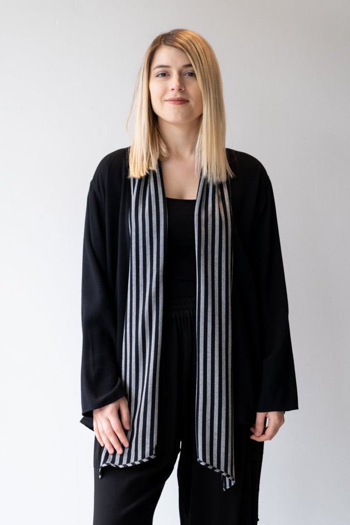 Stripe Trim Jacket - The Wardrobe