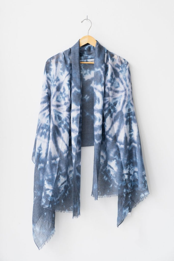 Tie Dye Scarf - The Wardrobe