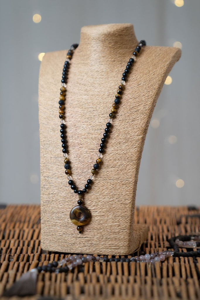 Tigers Eye Stone Necklace - The Wardrobe