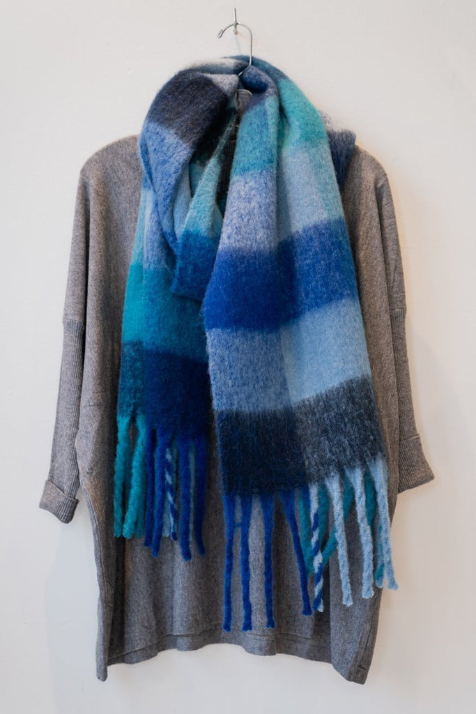 Winter Blue Scarf - The Wardrobe