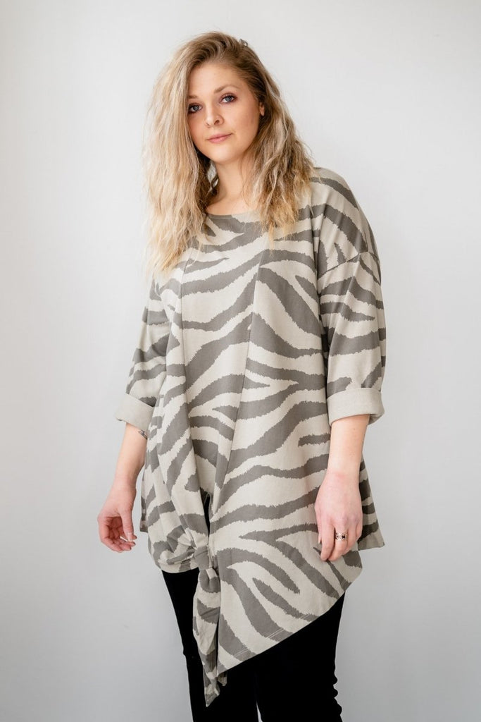 Zebra Tunic - The Wardrobe