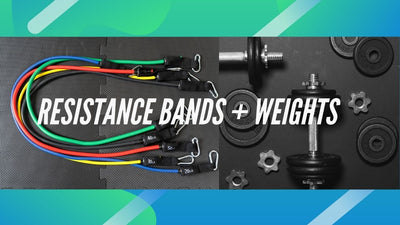 Find out how combining resistance bands with your weights workout will get you bigger and stronger faster.