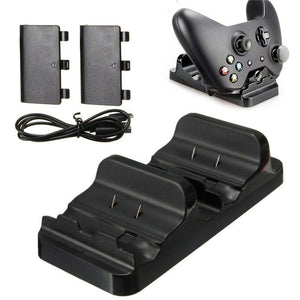 Xbox One - Dual Charger + 2 rechargeable battery pack